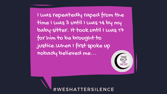 18 Years Old in Philadelphia, PA | #WeShatterSilence | Let This Story Be Heard By Clicking Share