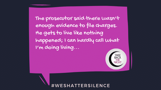 26 Years Old in Minneapolis, MN | #WeShatterSilence | Let This Story Be Heard By Clicking Share