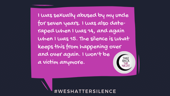 14 Years Old in Oswego, IL | #WeShatterSilence | Let This Story Be Heard By Clicking Share