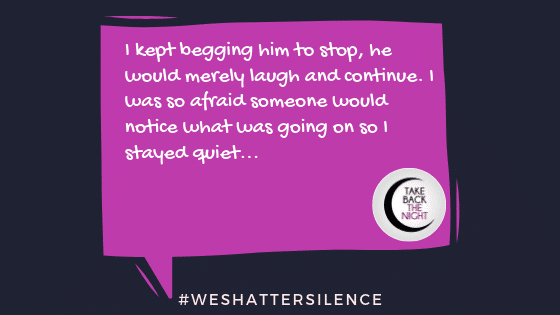 15 Years Old in Bay Area, CA | #WeShatterSilence | Let This Story Be Heard By Clicking Share