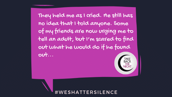 14 Years Old in Antioch, TN  | #WeShatterSilence | Let This Story Be Heard By Clicking Share