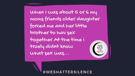 survivor story for #weshattersilence