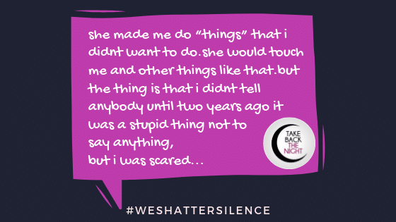 13 Years Old in Rapid River, MI | #WeShatterSilence | Let This Story Be Heard By Clicking Share