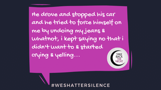 17 Years Old in Marlton, NJ | #WeShatterSilence | Let This Story Be Heard By Clicking Share