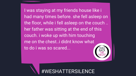 survivor story for #weshattersilence